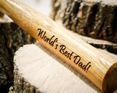 Engraved Hammer, Personalize With Any Message, Laser Engraved, Custom Gift For Fathers Day, Birthday, Anniversary, Wedding, Groomsmen