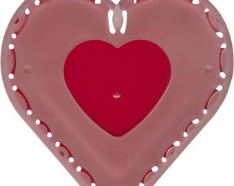 Quick Yo Yo Maker Large Heart by Clover (8705) Plastic Template