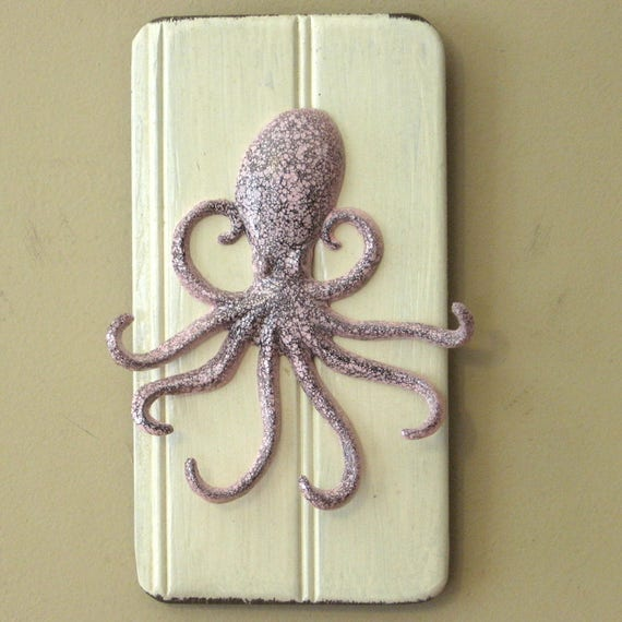 Octopus Wall Hooks Wall Hanging Wall Key Holder Key Ring