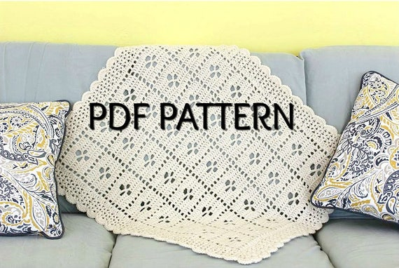Call The Midwife Afghan Crochet Blanket Pattern Pdf