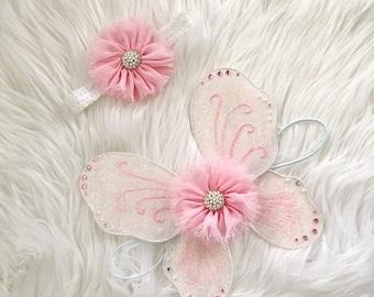 Pink Blush Wing Set