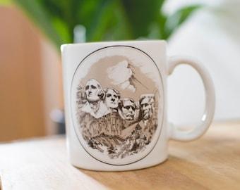 Mount Rushmore Mug