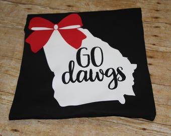 Personalized Georgia Bulldog Shirt