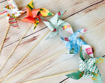 paper pinwheels kit - mexican fiesta theme wedding hen party