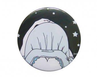 """Pocket mirror """"9 months"""" IzzI"""