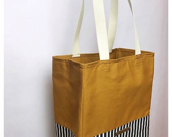 Hannah Canvas Shopping Bag, Grocery Tote, Canvas Tote, Market Bag