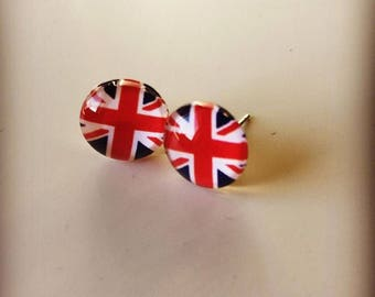 Union Jack Earrings.