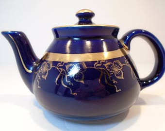 Hall Teapot 023 Blue 2 cup