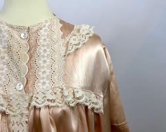 Vintage Satin Robe