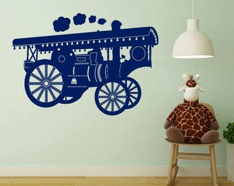 Showman's Train Sticker A82
