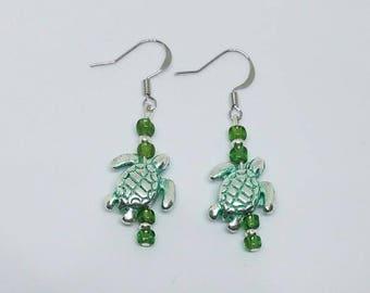 Earrings - Turtles