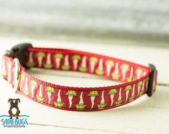 Leg lamp dog collar - Christmas