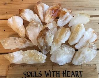 Citrine Points, Spiritual Stone, Healing Stone, Healing Crystal, Chakra