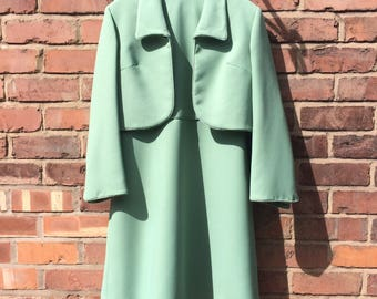 Vintage 1960's Peggy French Shift Dress and Jacket