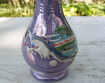 Dragon Ware Souvenir Vase from Silver Springs FL, 1950's, China