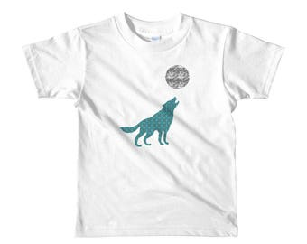 Howl at the Moon - Short sleeve kids t-shirt