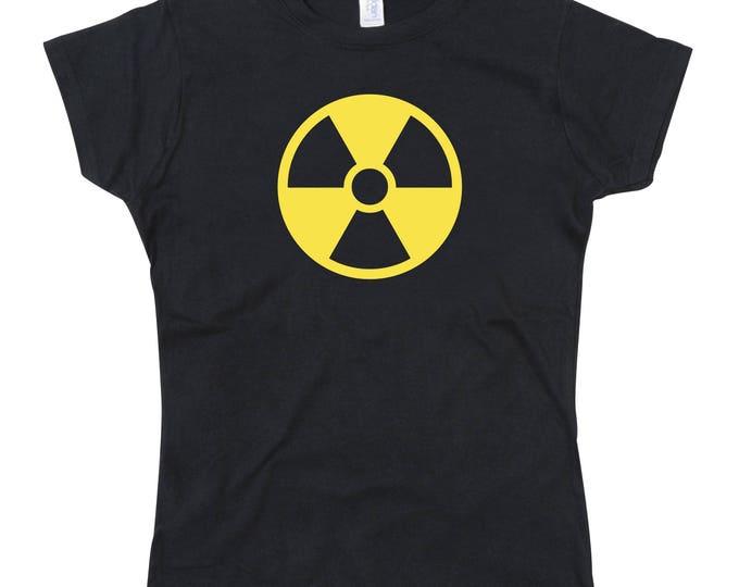 Ladies Radiation symbol Tshirt Tee