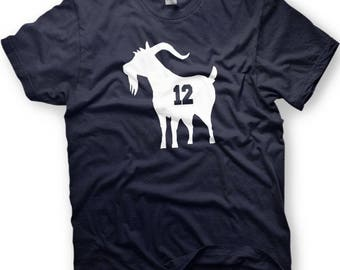 Tom Brady Shirt - New England  - GOAT - Greatest of all Time shirt