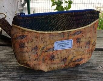 Gerbera Mini Crossbody bag in printed cork
