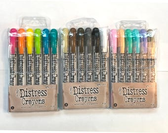 Distress Crayons YouTube Special 5/5 dollars any 5 crayons listed here cc52