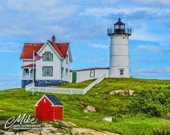 Light House #13 - Nubble Light House - Photograph