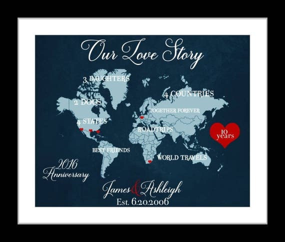 20th Wedding Anniversary Gifts For Wife: 1 20th Anniversary Gift For Him Or Her Husband Wife