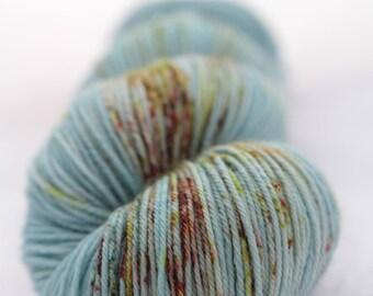Hand-dyed yarn - superwash merino - sock yarn - fingering - dyed-to-order - CELTIQUE