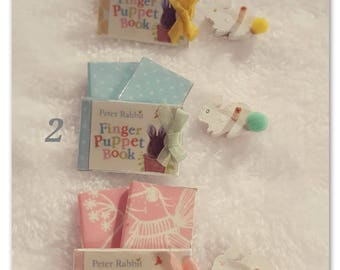 Books baby set 1/12 scale