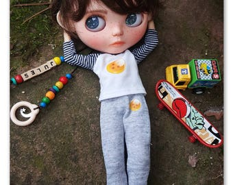 Jules custom blytheboy doll
