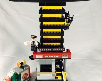 LEGO® Lamp - Batman vs Scarecrow