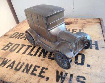 Vintage Model T Coin Bank...Union State Bank...Banthrico Inc