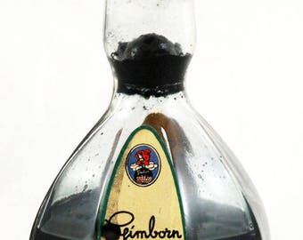 Vintage Dutch design glass inkpot Leerdam Andries Copier 1936