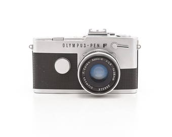 Olympus PEN FT - 35mm Half Frame Film Camera - Clean and Working with functional Light Meter