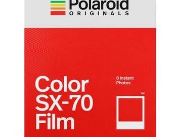 Color SX70 Film for Polaroid SX-70 Cameras White Frame - POLAROID ORIGINALS SX70 Color Instant Film