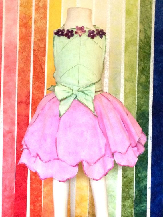 Fairy Dress Up Apron, Pink, Disney Vacation Outfit, Birthday Dress, Girls Dress Up, Fairy Dress, Halloween Costume, Princess Dress, Apron