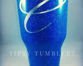 Glitter stainless steel tumbler glitter cup glitter tumbler glitter yeti glitter Ozark glitter rtic glittery tumbler glitter dipped cup