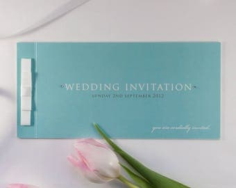 TIFFANY // Wedding Stationery // Invitation // Book