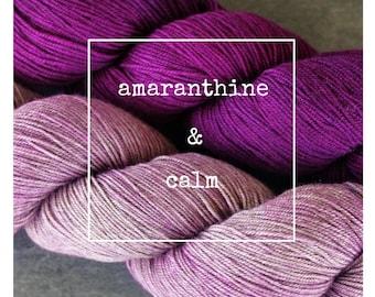 Amaranthine & Calm Yak Attack Pack for Kirsten Kapur's MKAL