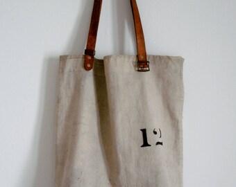 Canvas Tote Bag Vintage Kit Shoulder Bag Market Bag