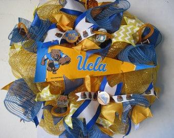 UCLA Bruin Wreath
