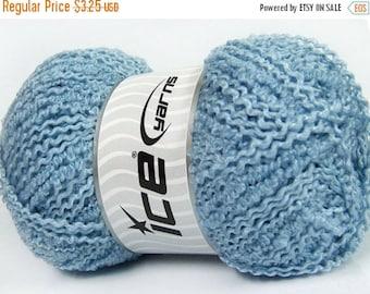 Clean My Closet Sale Ice Yarns Twister Wool Light Blue Yarn