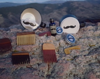 Dr. Seth's Beard and Mustache Combs