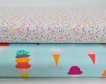 Ice Cream & Sprinkles Fabric Bundle - Boardwalk Delight by Dana Willard for Art Gallery Fabrics - 100% premium cotton - Select Your Length