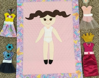 Paper Doll Quilt Pattern