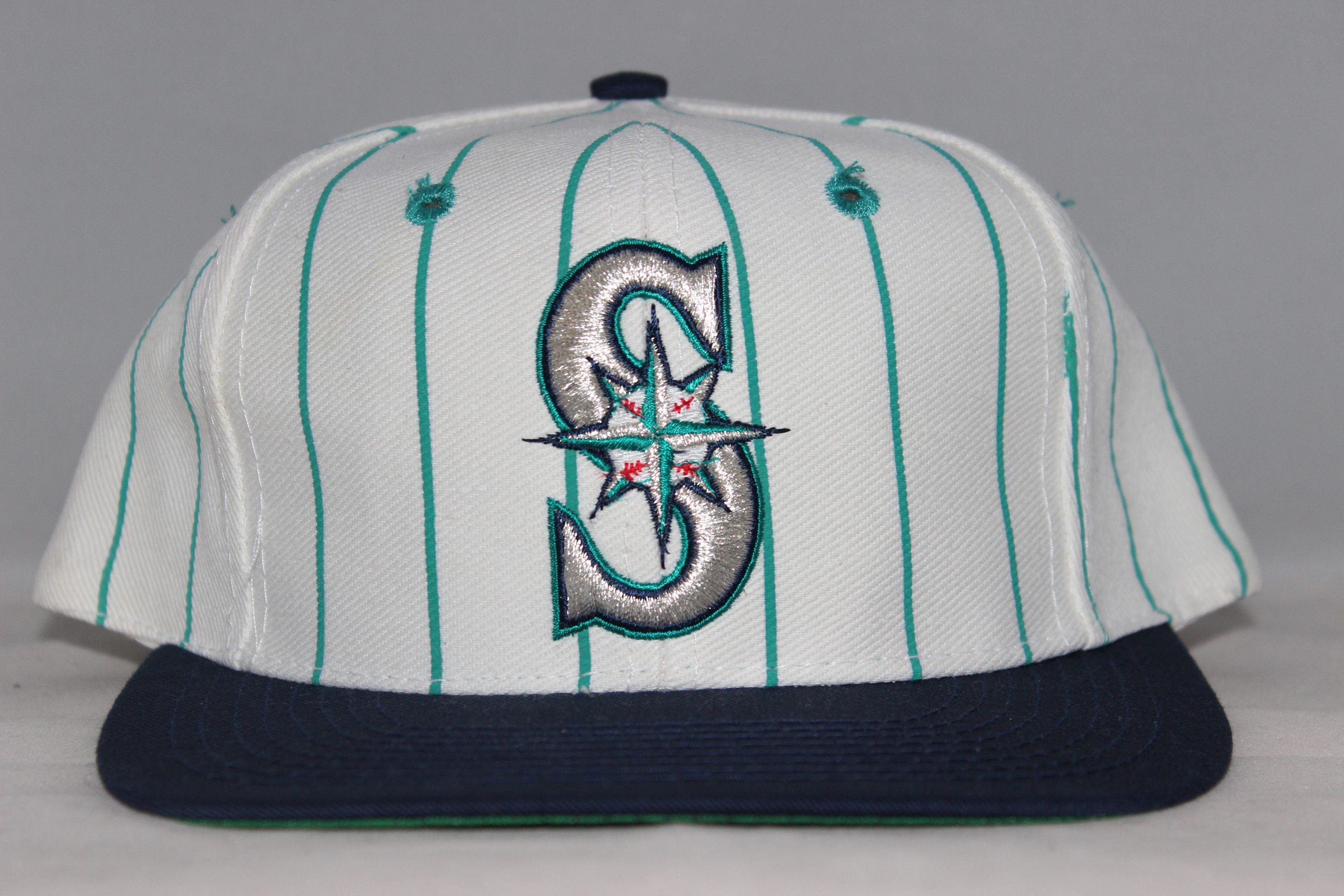 Vintage Seattle Mariners MLB Snapback Hat 8bd805e8a937