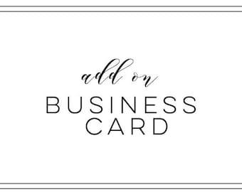 Add a Business Card