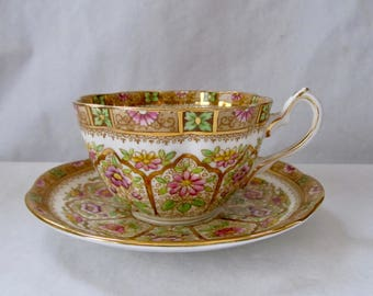 "Royal Albert ""Court"" Cup and Saucer ca 1930"