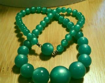 Vintage moonglow necklace.