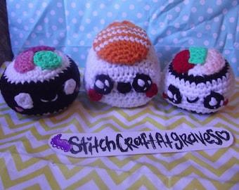 Crochet Sushi Plush