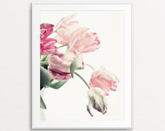 Tulips Photo - Tulips Print, Floral Photography, Flower Print, Flaming Tulips, Home Decor, Floral Print Art, Floral Wall Art Print